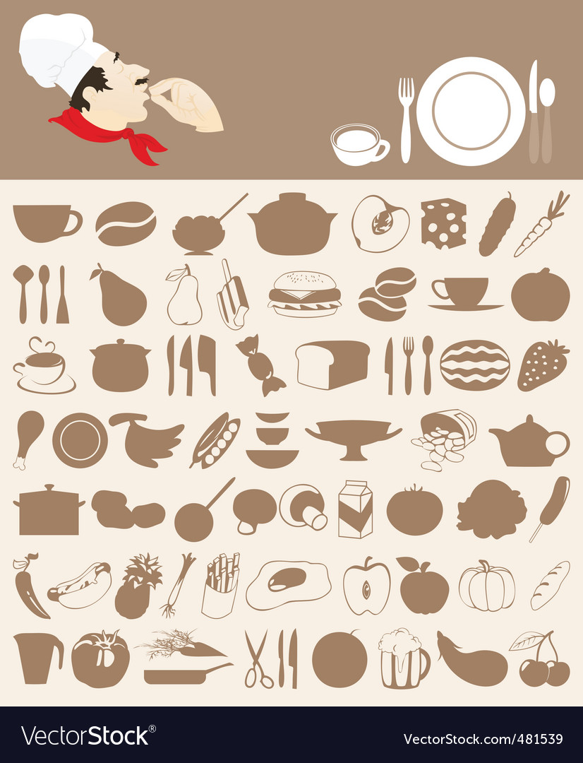 Food icon5 vector | Price: 1 Credit (USD $1)