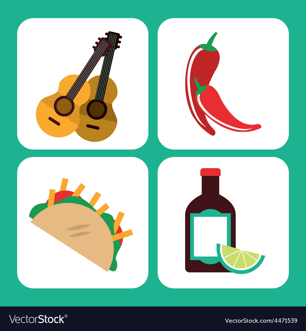 Mexican culture vector | Price: 1 Credit (USD $1)