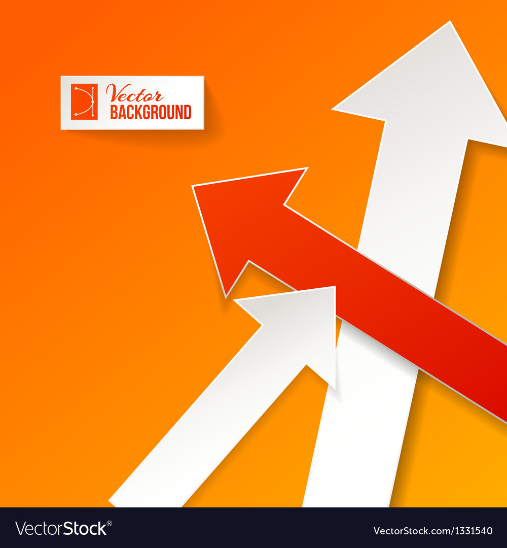 Abstract arrow background vector   Price: 1 Credit (USD $1)