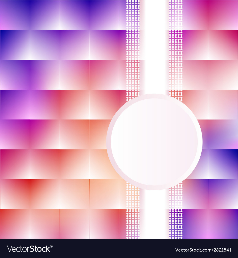 A pink background with squares stripe vector | Price: 1 Credit (USD $1)