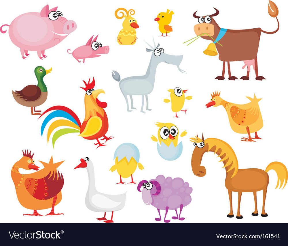 Animal set vector | Price: 3 Credit (USD $3)