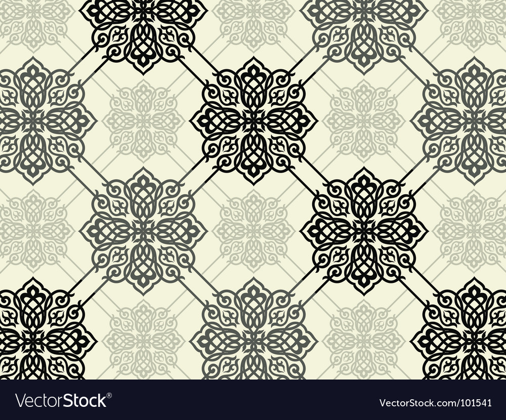 Decorative print vector | Price: 1 Credit (USD $1)