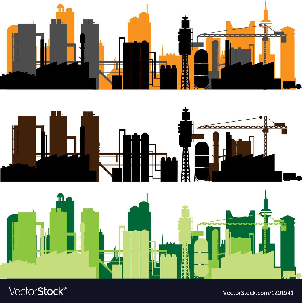 Factory city vector   Price: 1 Credit (USD $1)