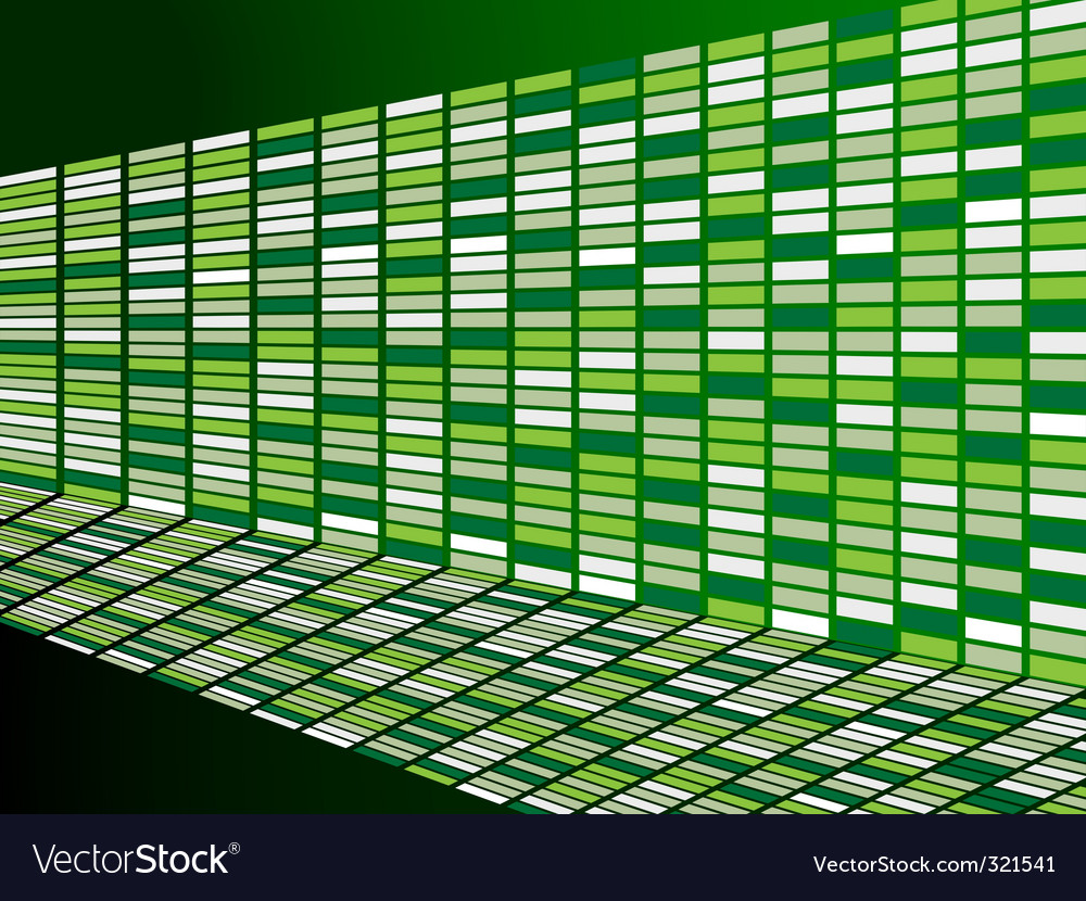 Green wall background vector | Price: 1 Credit (USD $1)