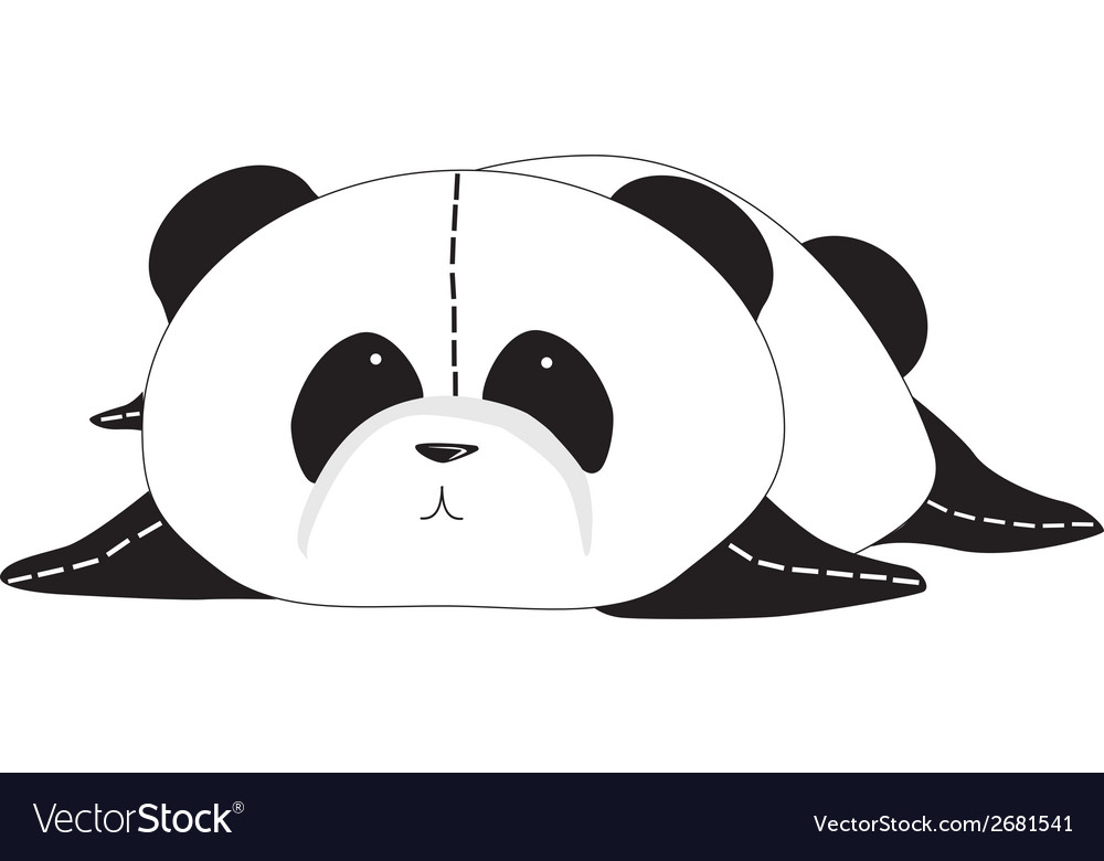 Panda bear vector | Price: 1 Credit (USD $1)