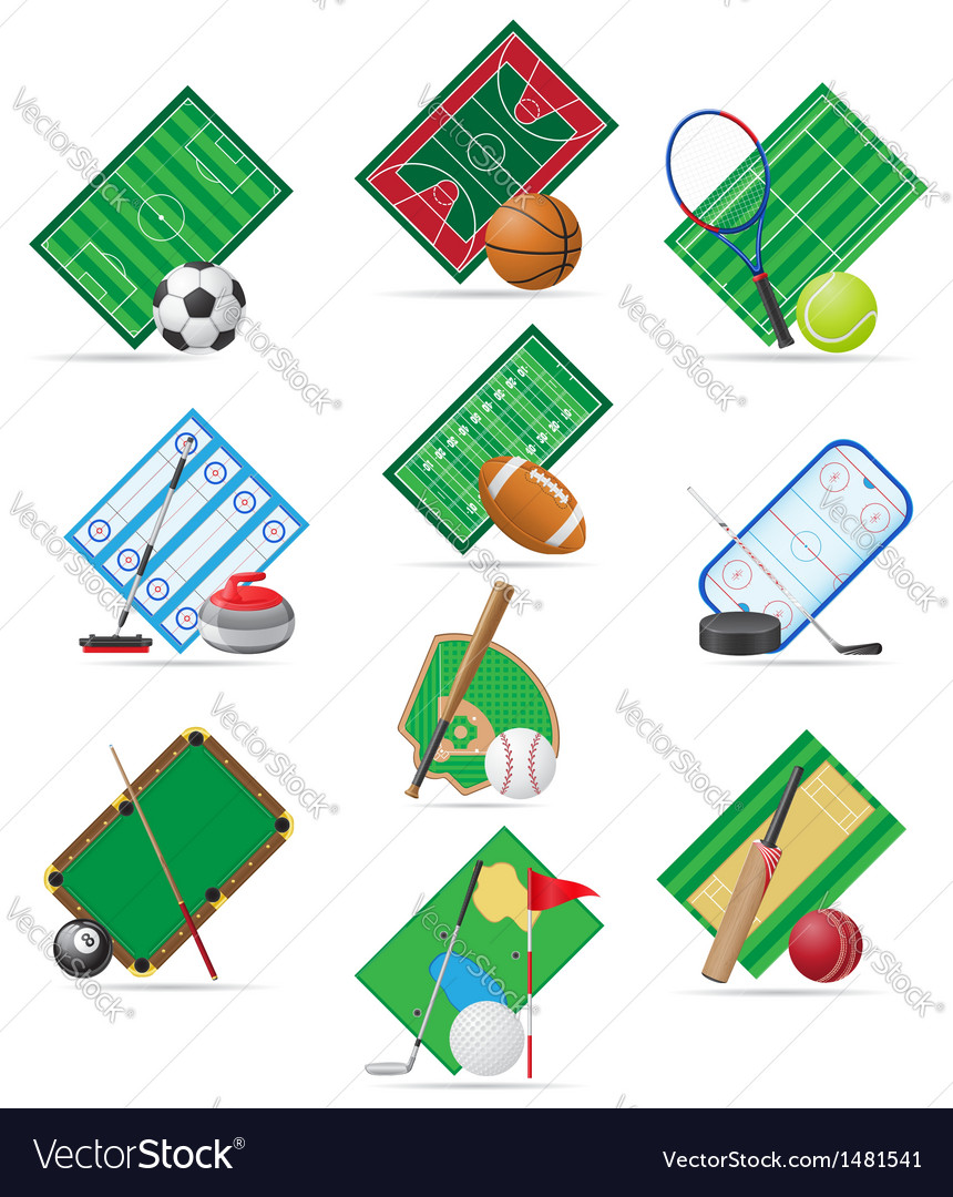 Set icons sport vector | Price: 3 Credit (USD $3)