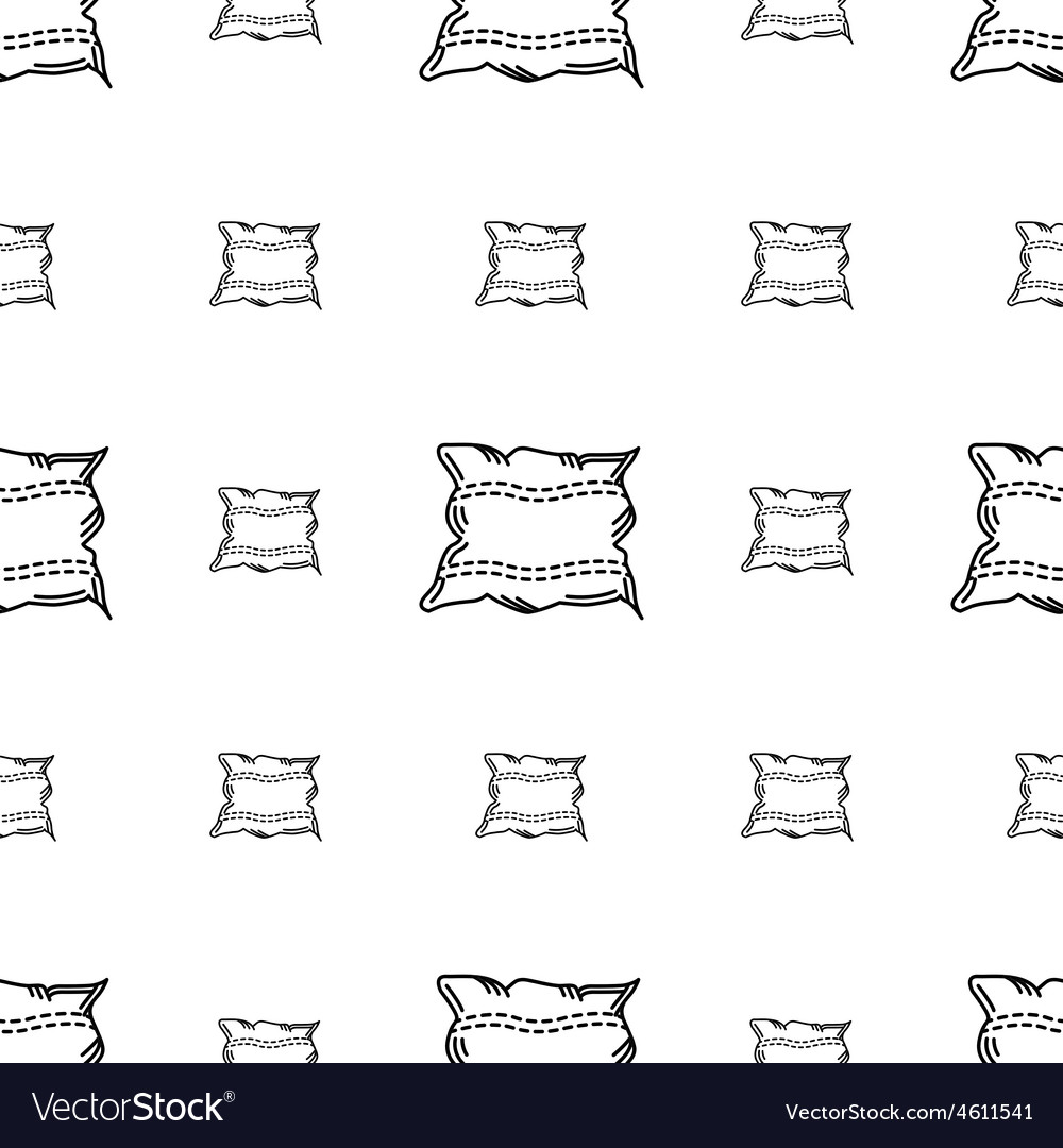 White pillow background vector | Price: 1 Credit (USD $1)