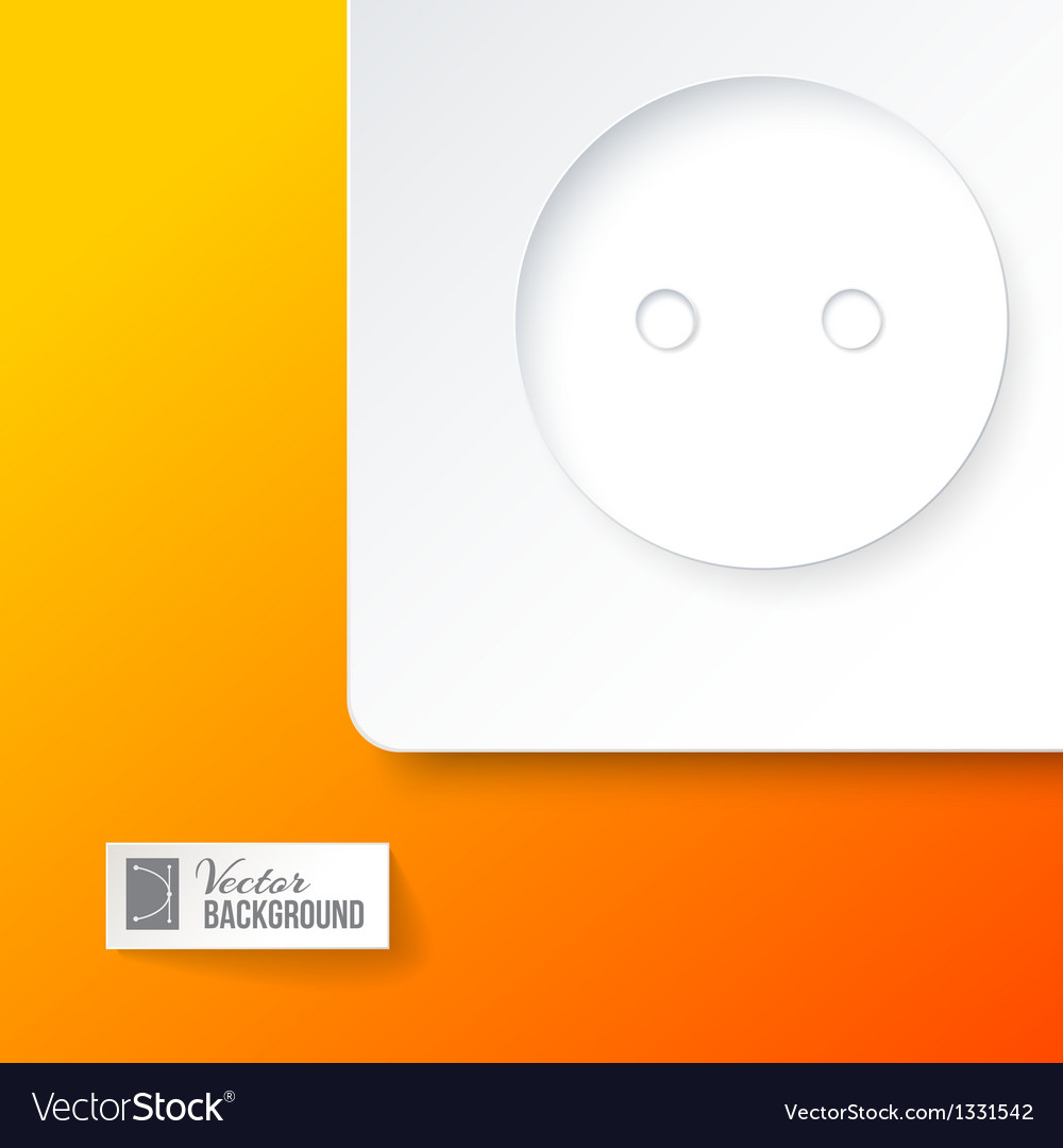Electric outlet vector | Price: 1 Credit (USD $1)