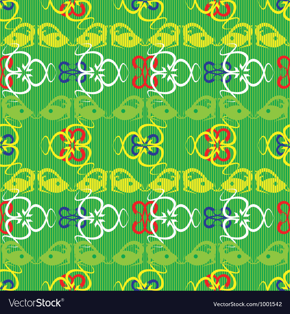 Lizards pattern vector | Price: 1 Credit (USD $1)