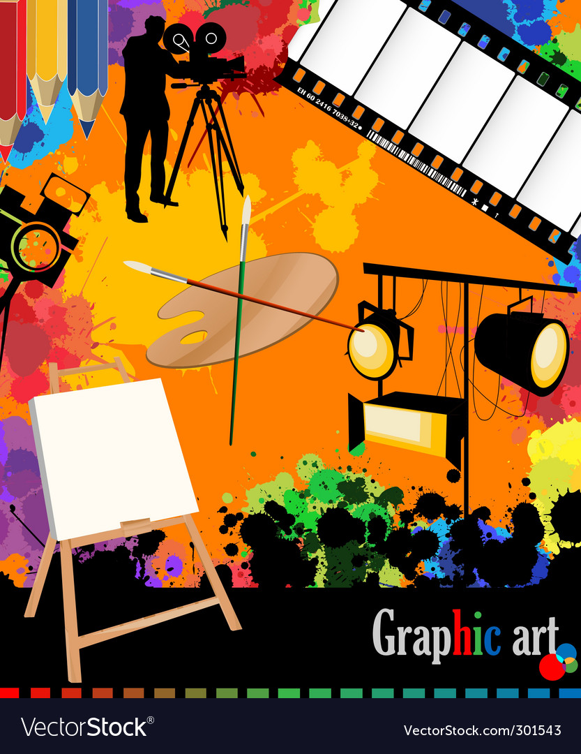 Graphic arts layout vector | Price: 3 Credit (USD $3)
