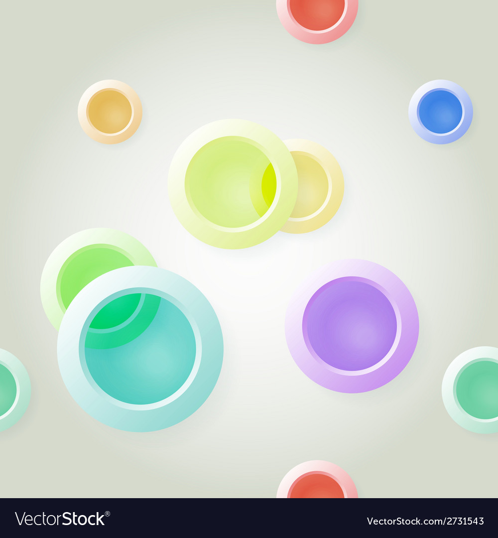 Paper on abstract circle background drop shadows vector | Price: 1 Credit (USD $1)
