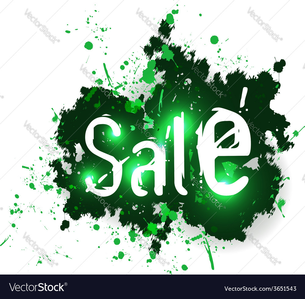 Sale grunge background vector | Price: 1 Credit (USD $1)