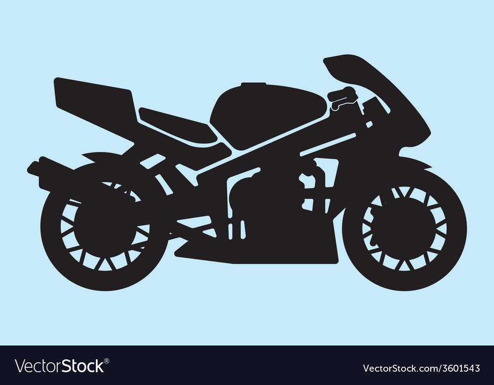 Sport motorcycle vector   Price: 1 Credit (USD $1)