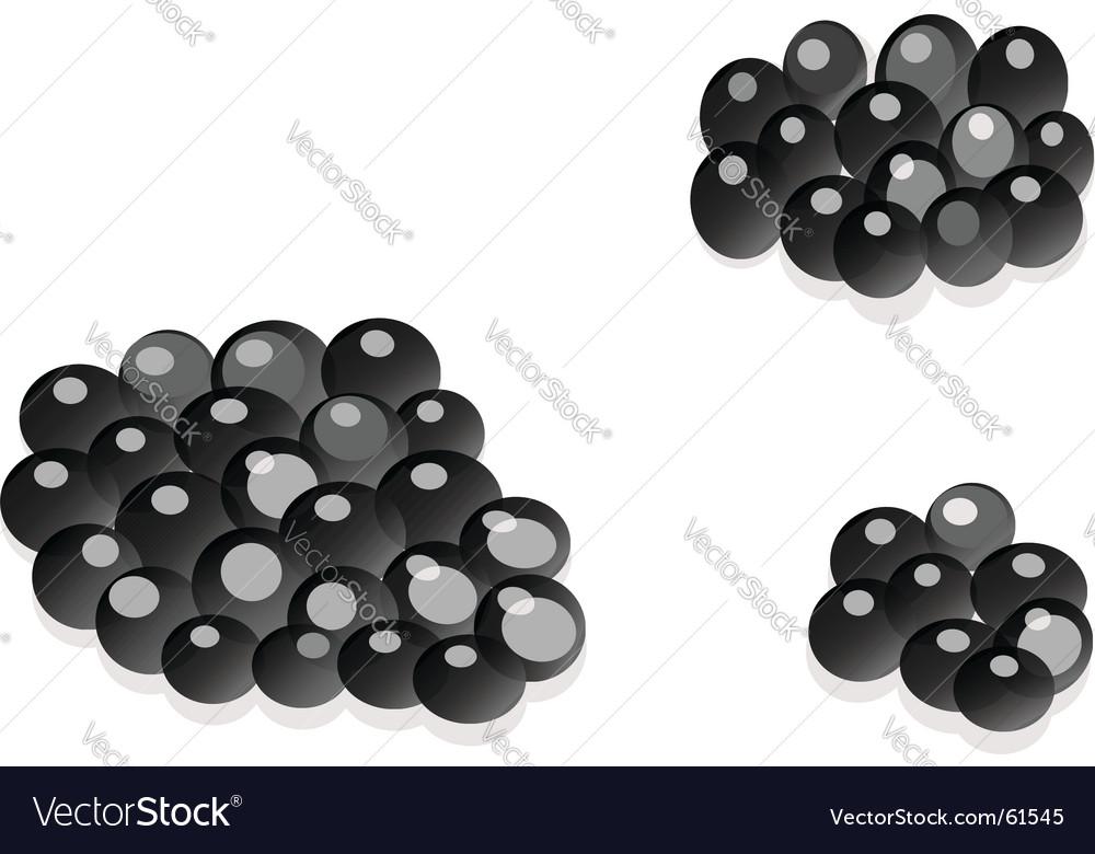 Appetizing caviar vector | Price: 1 Credit (USD $1)