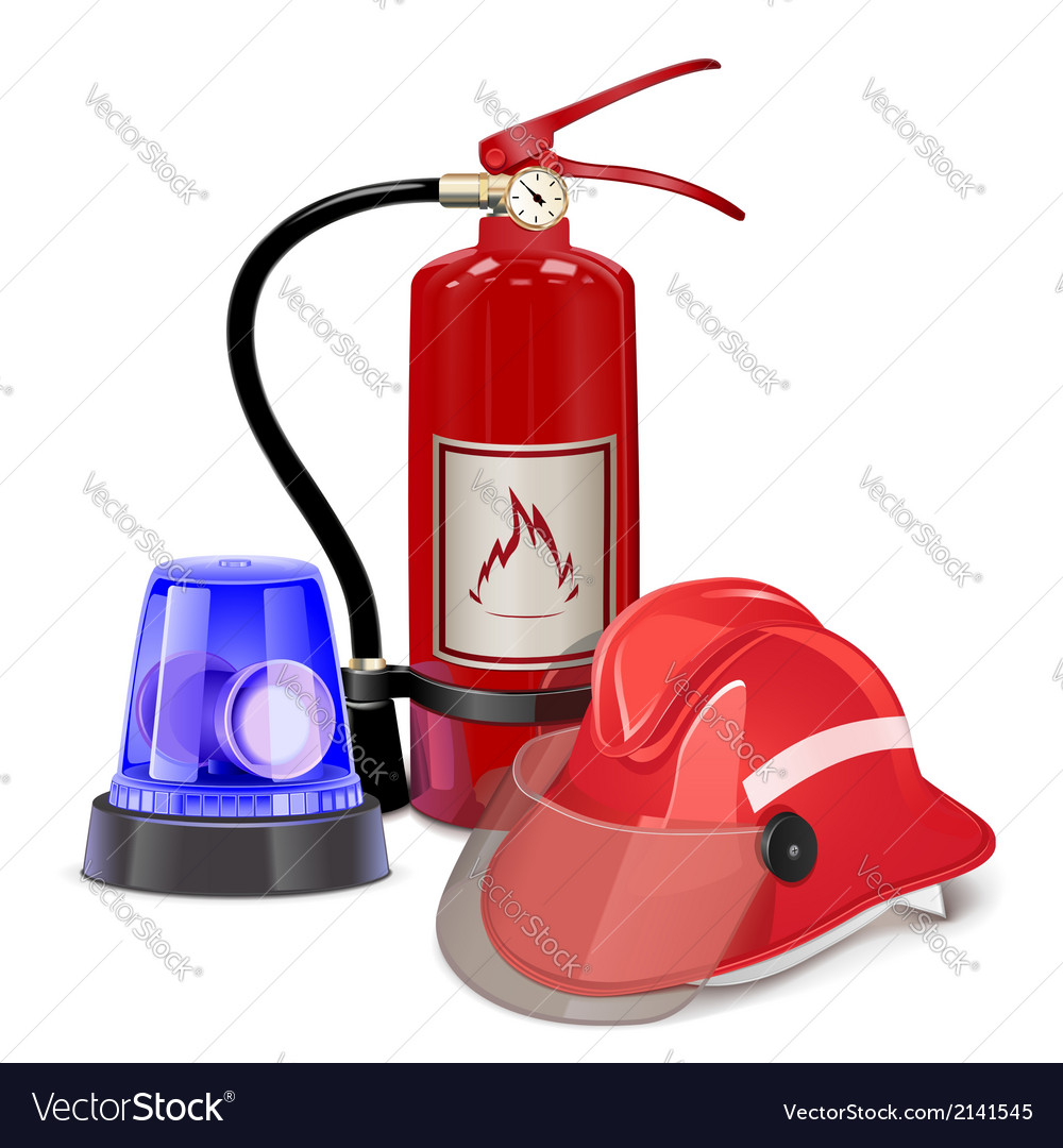 Fire prevention concept vector | Price: 3 Credit (USD $3)