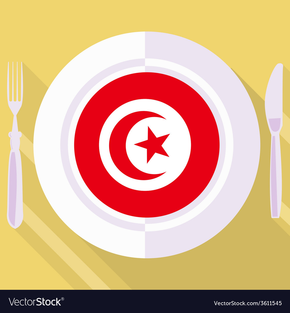 Kitchen of tunisia vector | Price: 1 Credit (USD $1)