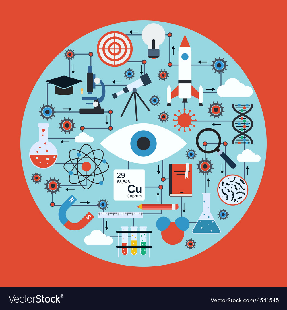 Science research concept vector | Price: 1 Credit (USD $1)