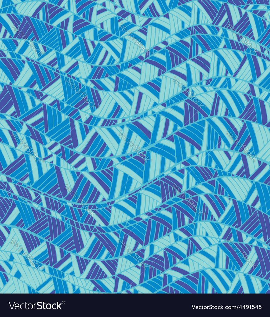 Vintage hand-drawn abstract pattern with wave vector | Price: 1 Credit (USD $1)
