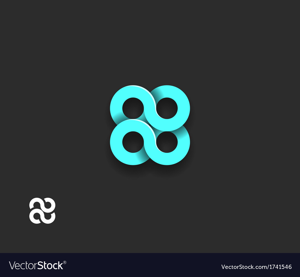 Abstract spiral element vector | Price: 1 Credit (USD $1)