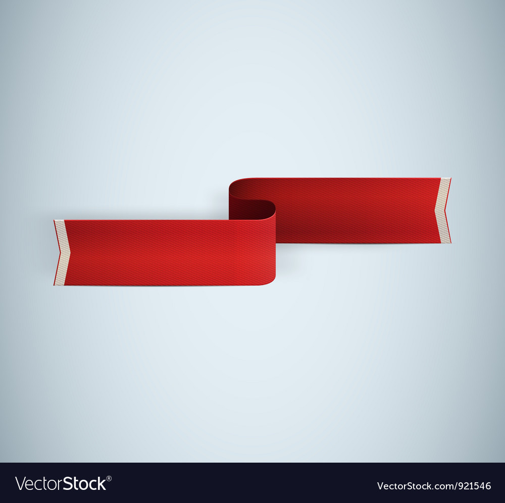 Red textured ribbon vector | Price: 1 Credit (USD $1)