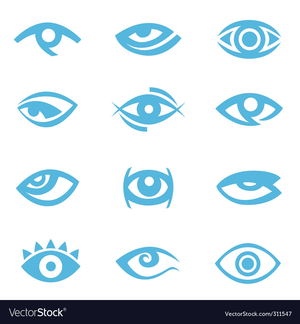 Eye symbol vector | Price: 1 Credit (USD $1)