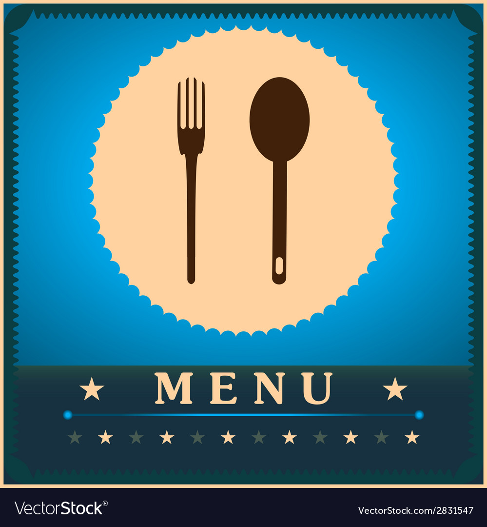 Restaurant menu card design template vector | Price: 1 Credit (USD $1)
