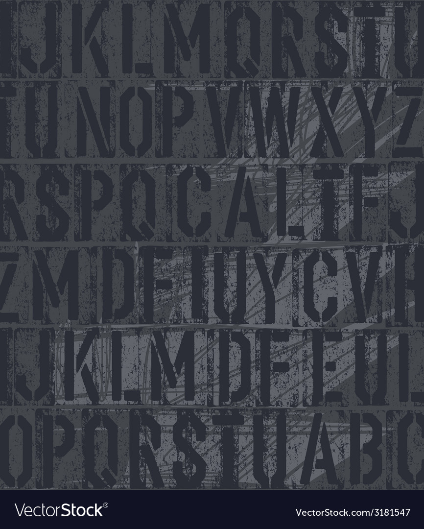 Vintage letterpress vector | Price: 1 Credit (USD $1)