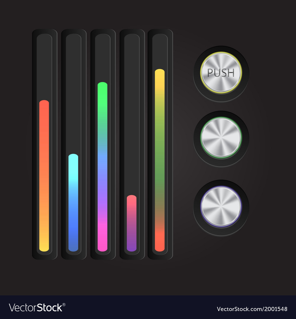 Abstract music equalizer eps 10 vector   Price: 1 Credit (USD $1)