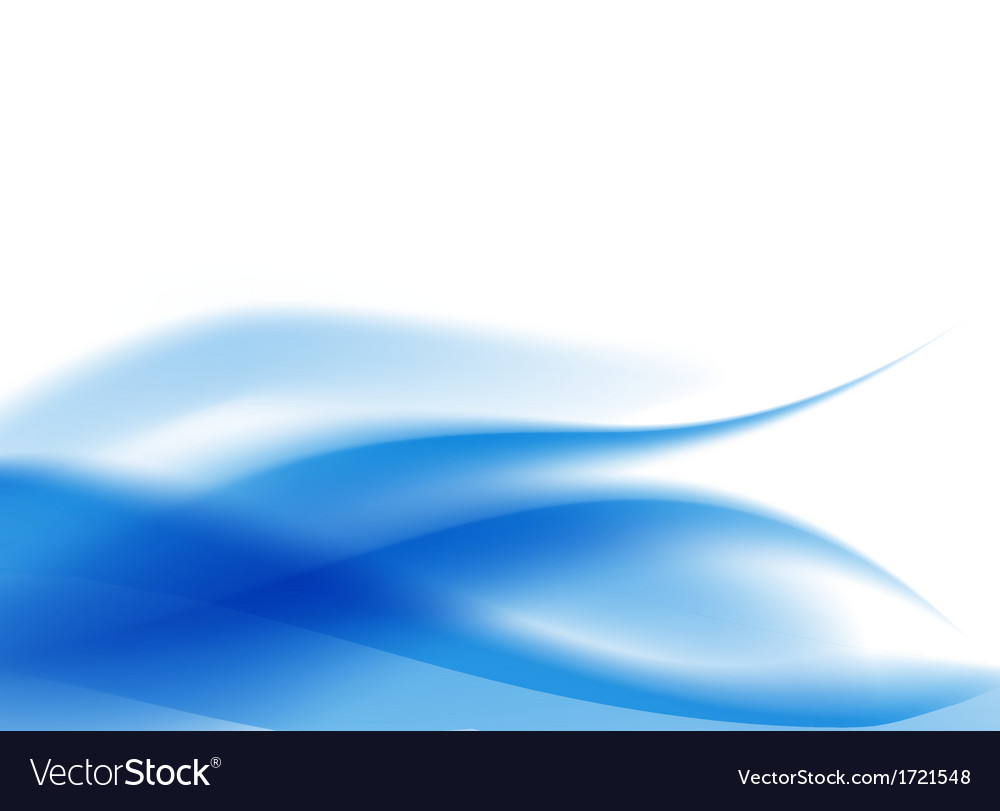 Blue flowing wavy background vector | Price: 1 Credit (USD $1)