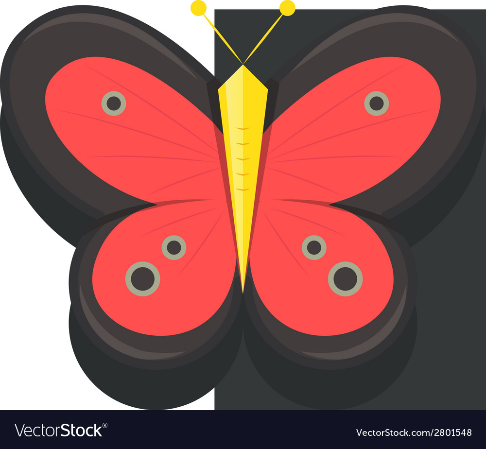 Butterfly icons vector | Price: 1 Credit (USD $1)