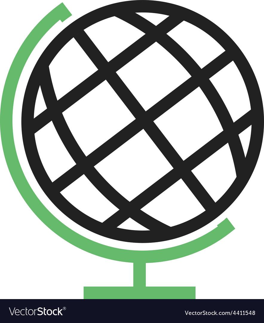 Globe earth vector | Price: 1 Credit (USD $1)