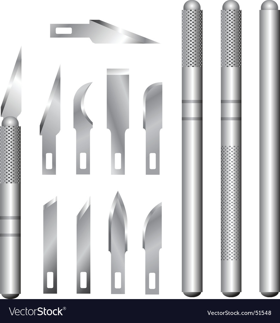 Hobby knife vector | Price: 1 Credit (USD $1)