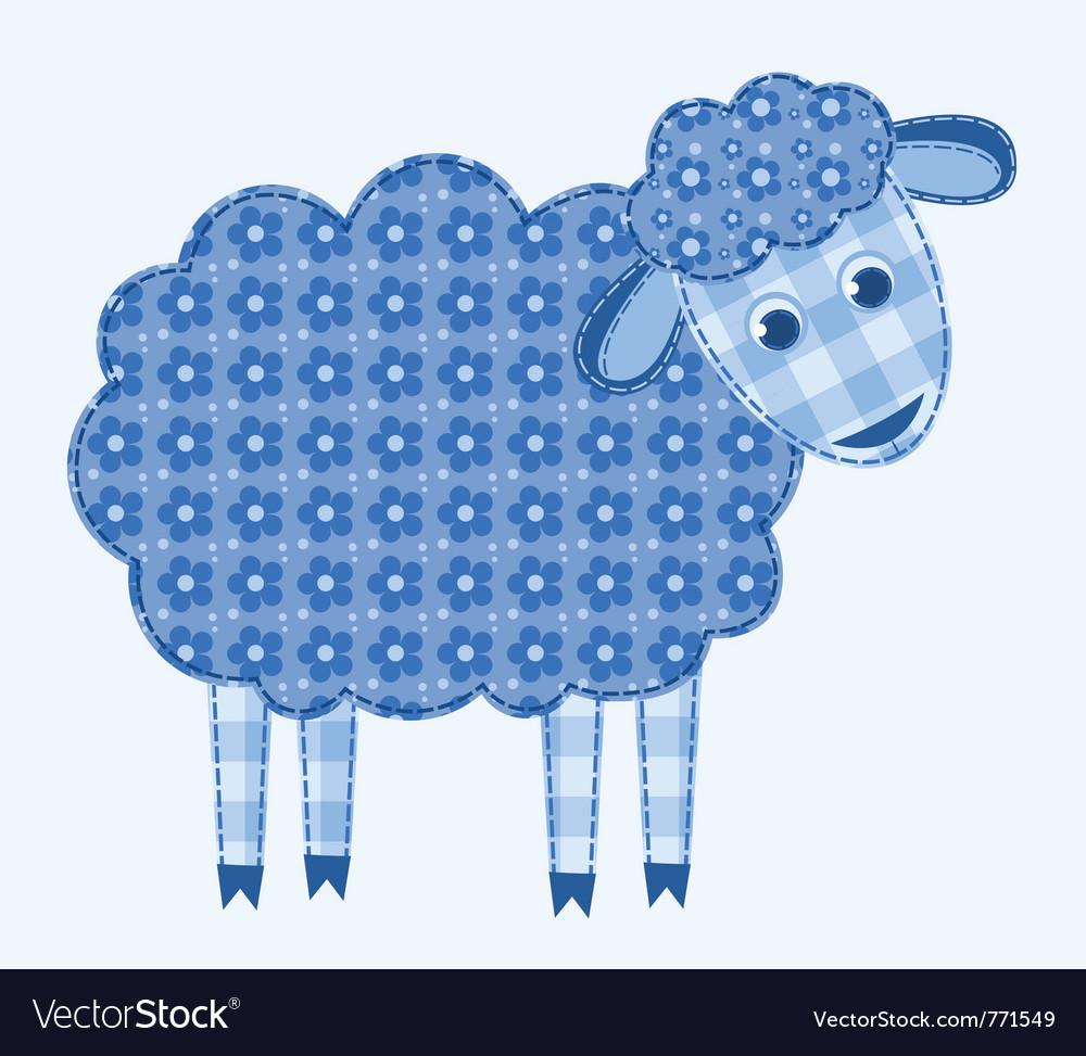 Application sheep vector | Price: 1 Credit (USD $1)
