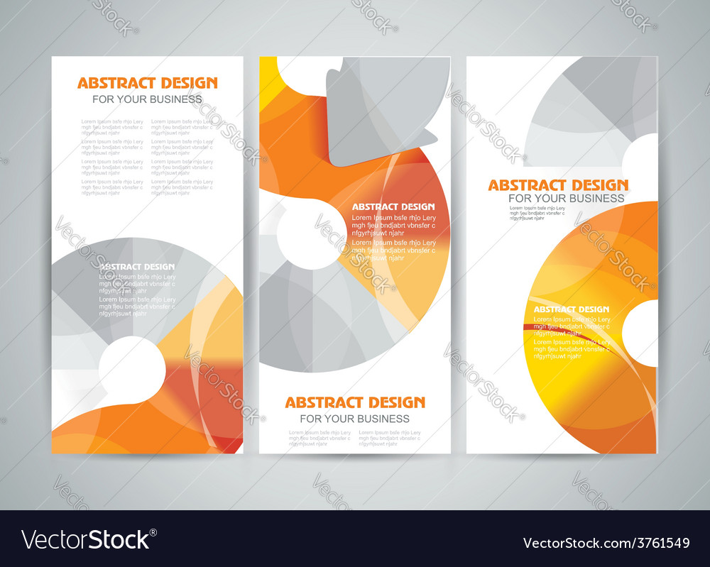 Banners design with arrows elements vector | Price: 1 Credit (USD $1)