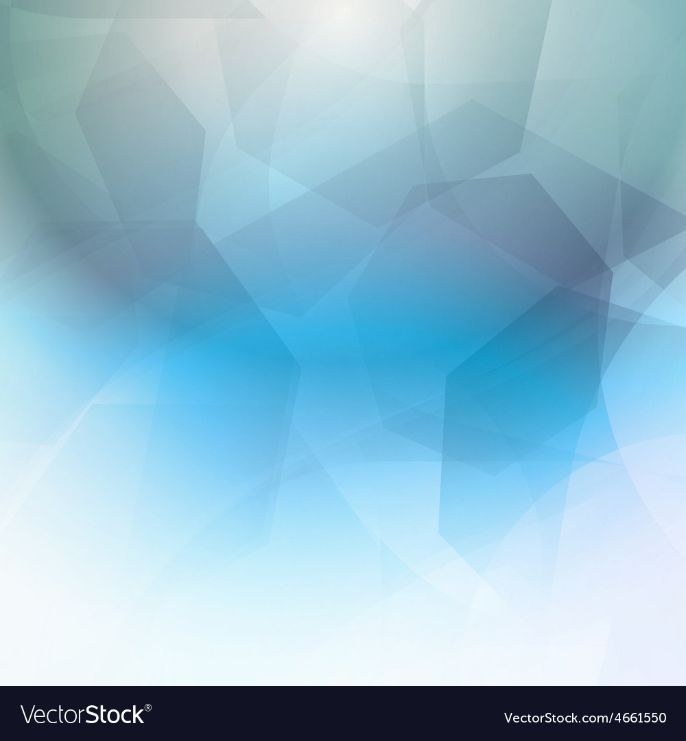 Abstract blue geometrical background vector | Price: 1 Credit (USD $1)