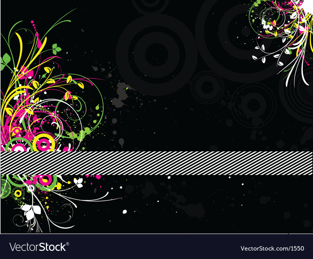 Fluorescent grunge vector | Price: 1 Credit (USD $1)