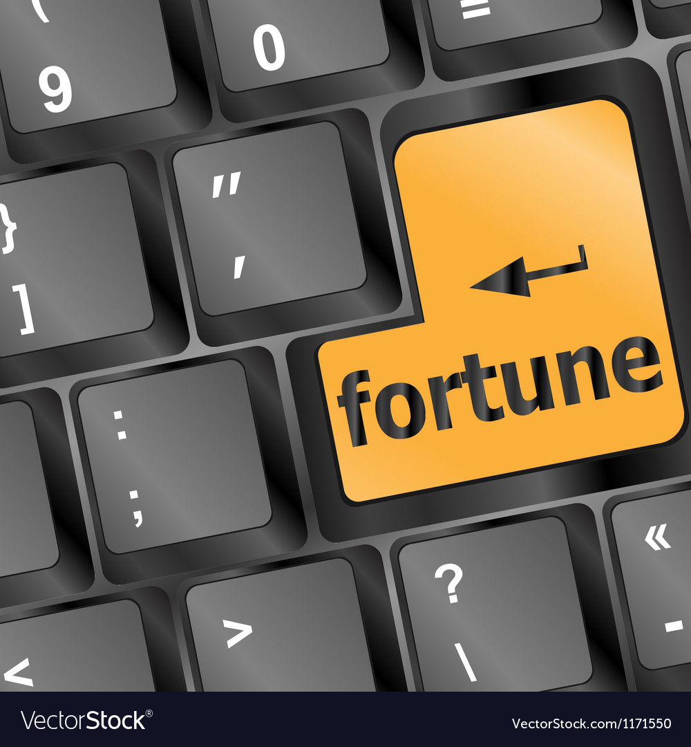 Foortune for investment concept with a orange vector | Price: 1 Credit (USD $1)