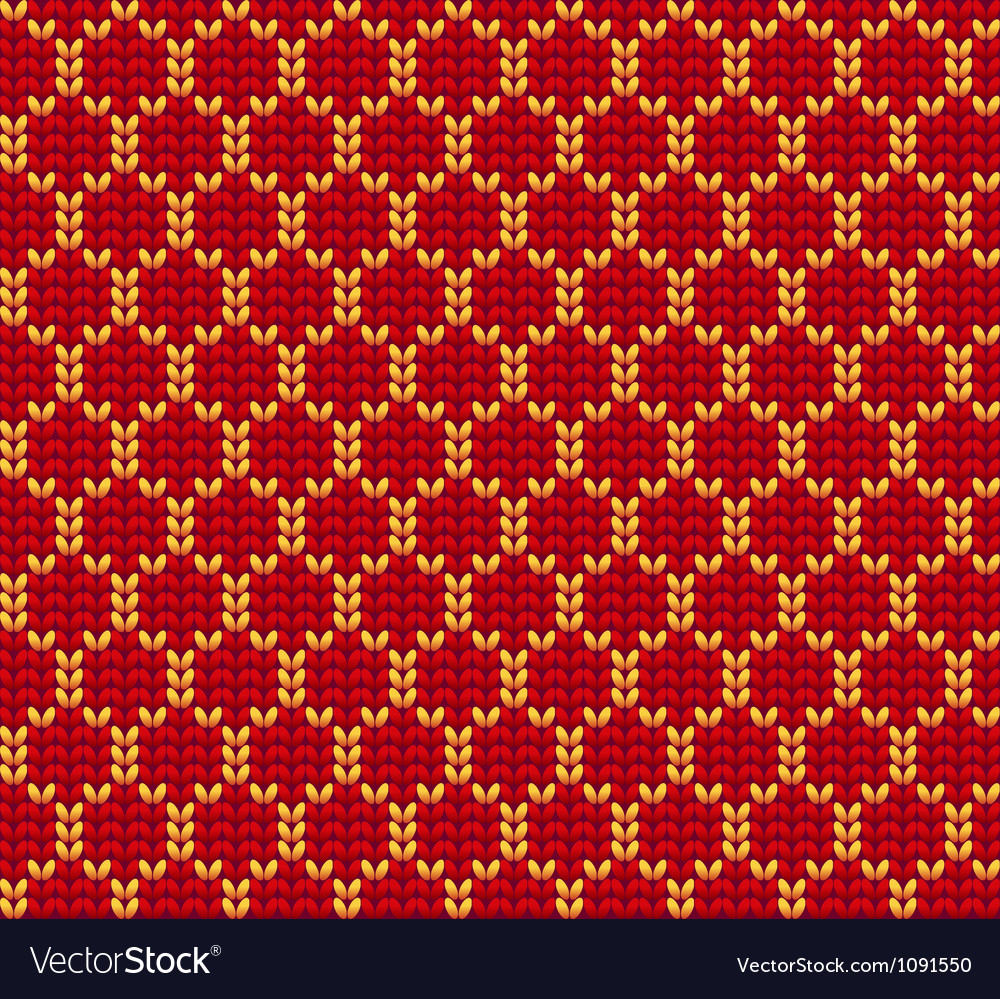 Knitted wool background vector | Price: 1 Credit (USD $1)