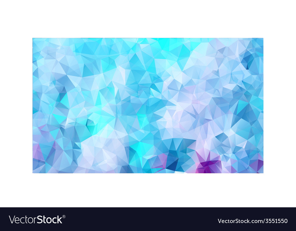 Vibrant polygonal background vector | Price: 1 Credit (USD $1)