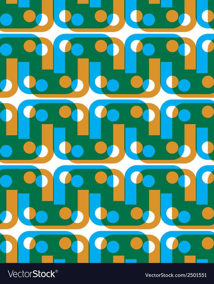 Abstract geometric background seamless pattern vector | Price: 1 Credit (USD $1)