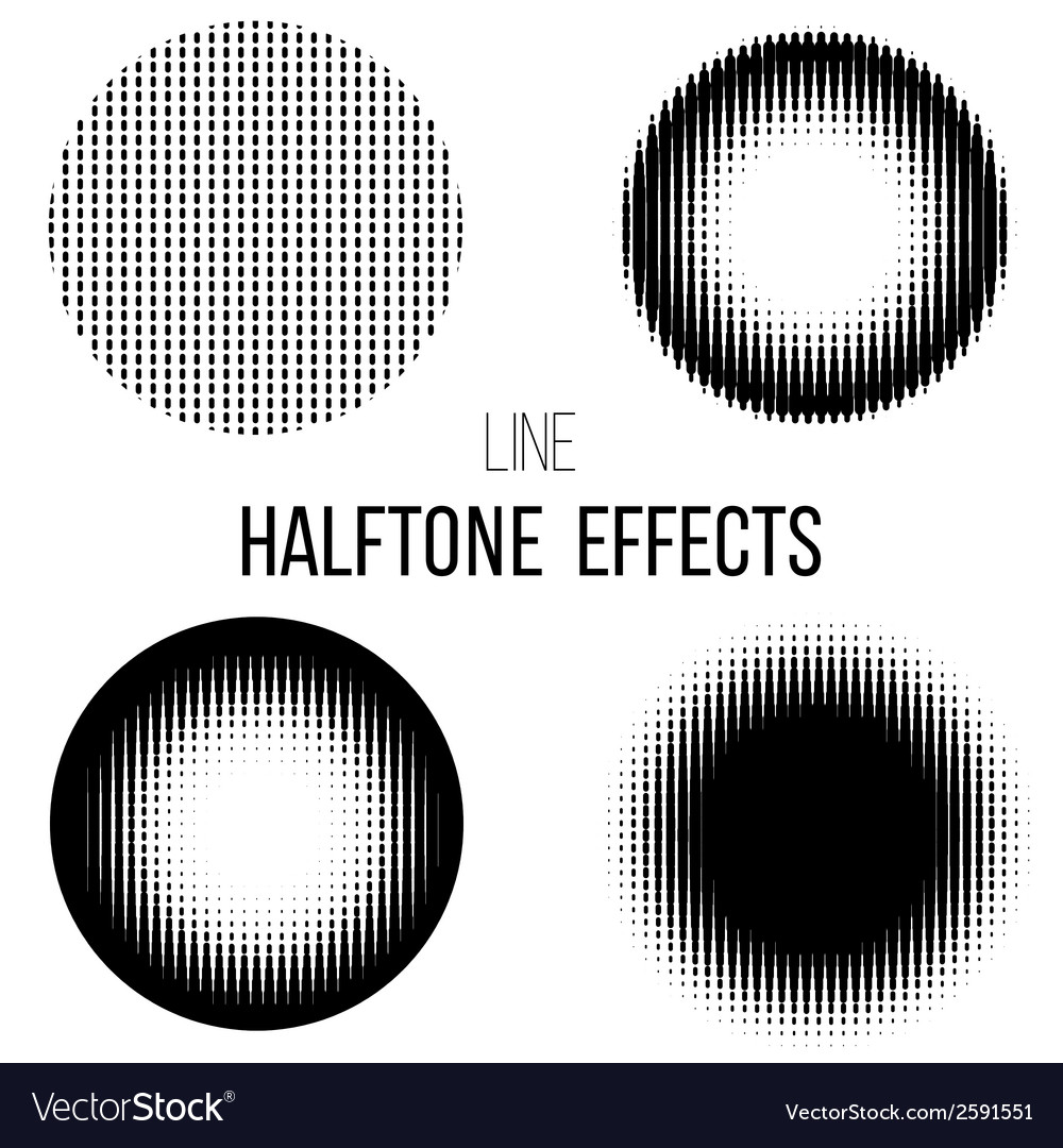 Abstract line halftone vector | Price: 1 Credit (USD $1)