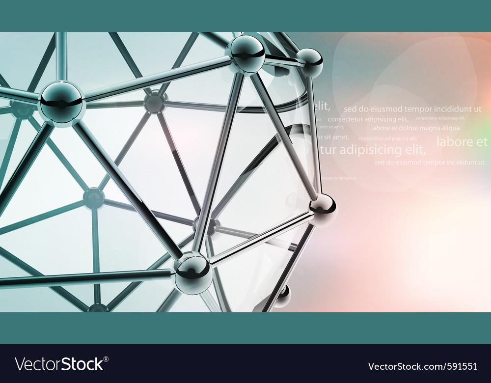 Atom molecule vector | Price: 1 Credit (USD $1)