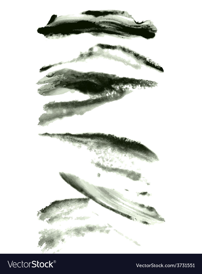 Brushes set vector   Price: 1 Credit (USD $1)