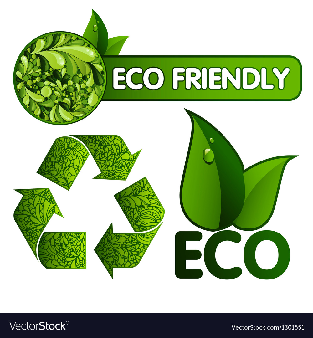 Eco design vector | Price: 3 Credit (USD $3)
