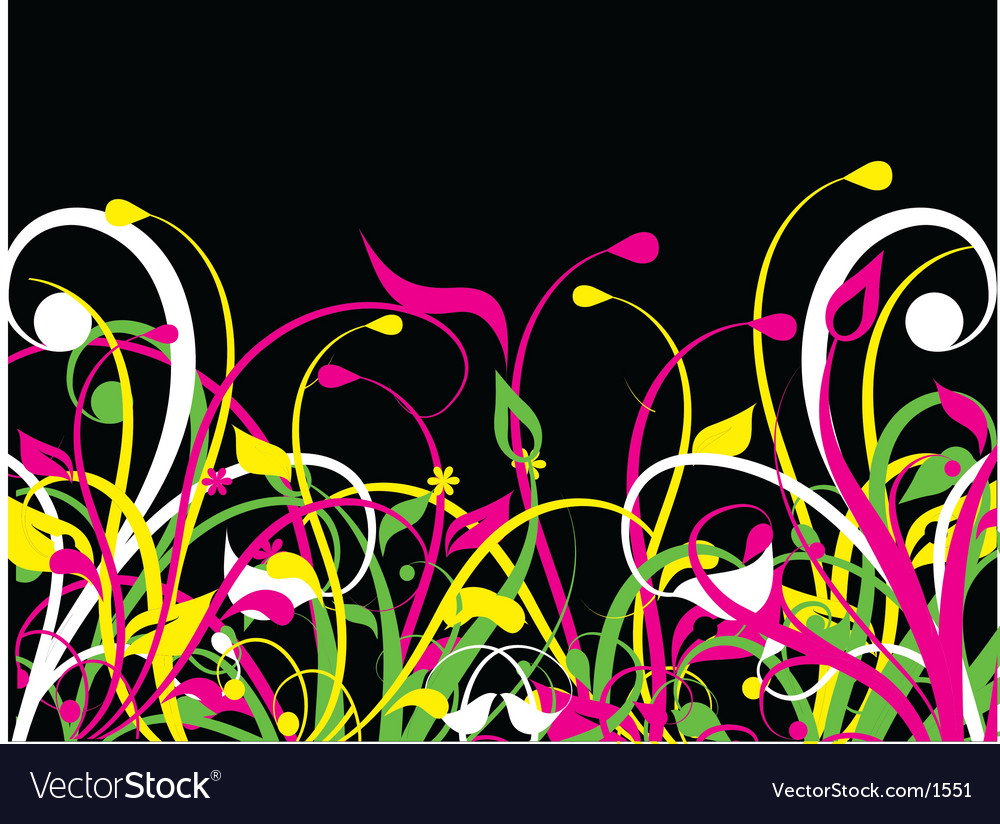 Fluorescent nature vector | Price: 1 Credit (USD $1)