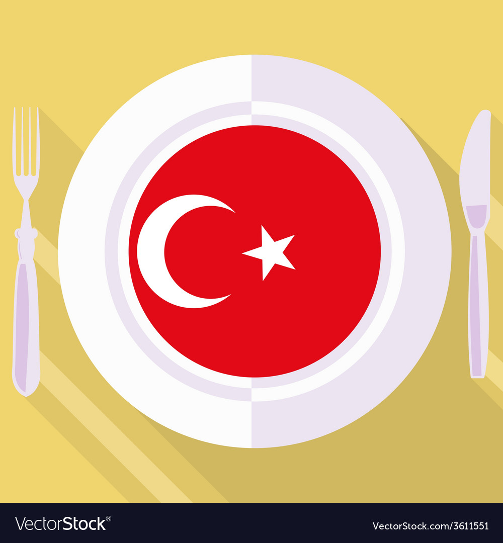 Kitchen of turkey vector | Price: 1 Credit (USD $1)