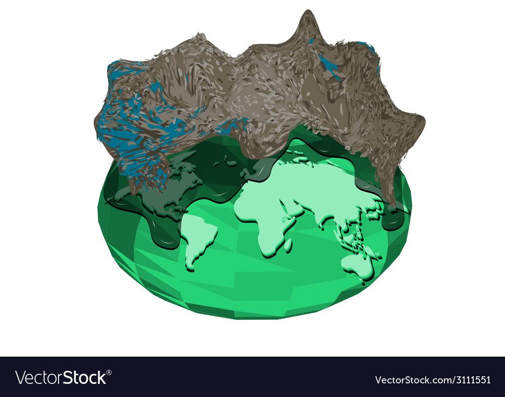 Landfill vector | Price: 1 Credit (USD $1)