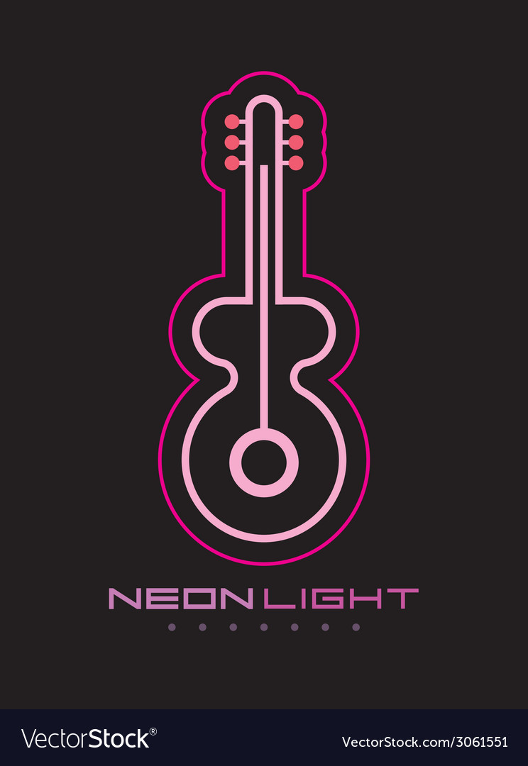 Neon light vector | Price: 1 Credit (USD $1)