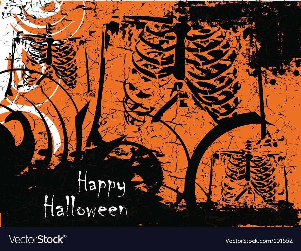 Grunge halloween vector   Price: 1 Credit (USD $1)