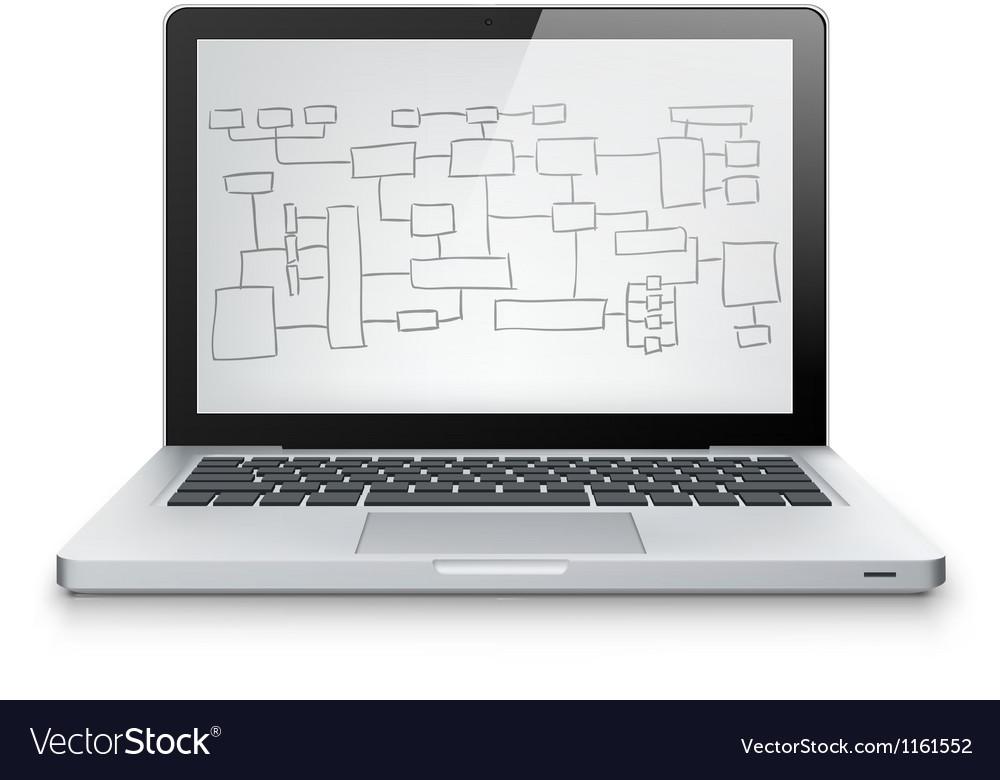 Laptop concept vector   Price: 1 Credit (USD $1)